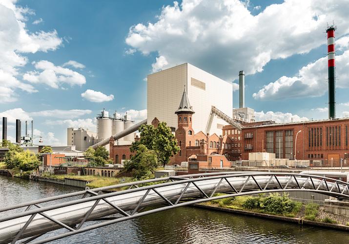 Vattenfall Steinkohlenkraftwerk Moabit, Berlin 2018