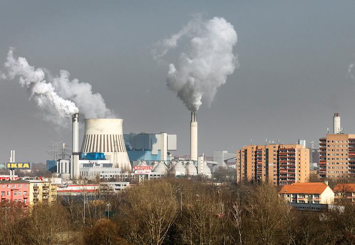 Vattenfall Steinkohlenkraftwerk Reuter West, Berlin 2018