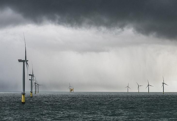DanTysk Offshore Windfarm Deutsch-dänische Nordsee 2018