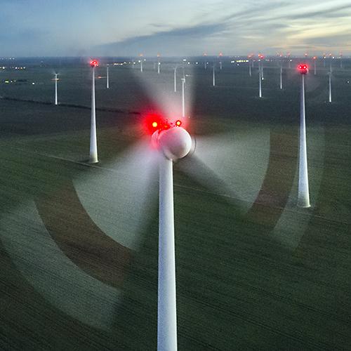 Windpark bei Nauen 2018
