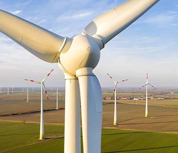 Windpark bei Nauen 2018