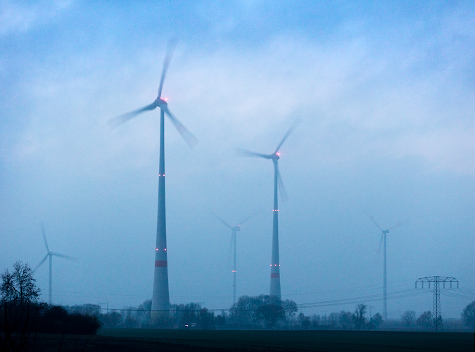 Windpark bei Prenzlau 2018