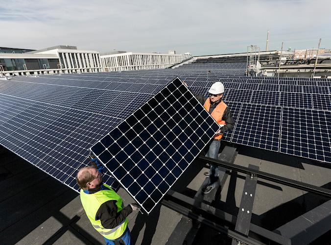Das FUTURIUM. Solares Regierungsviertel Berlin 2018