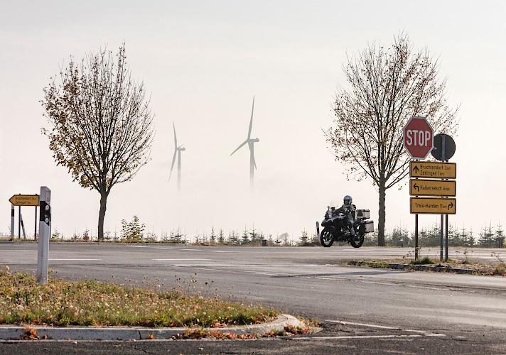 IKEA Windpark im Morgennebel Hambuch/Zettingen 2018