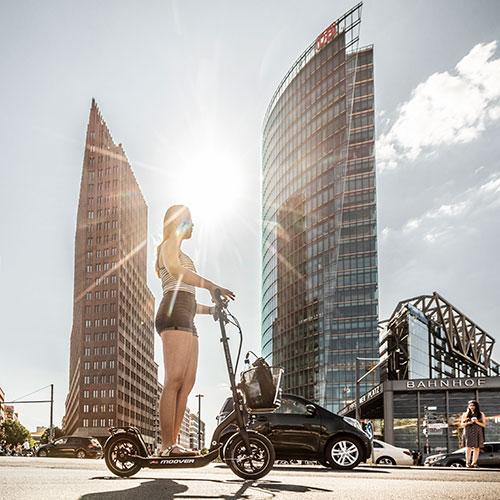 E-Scooter erobern Potsdamer Platz Berlin 2019