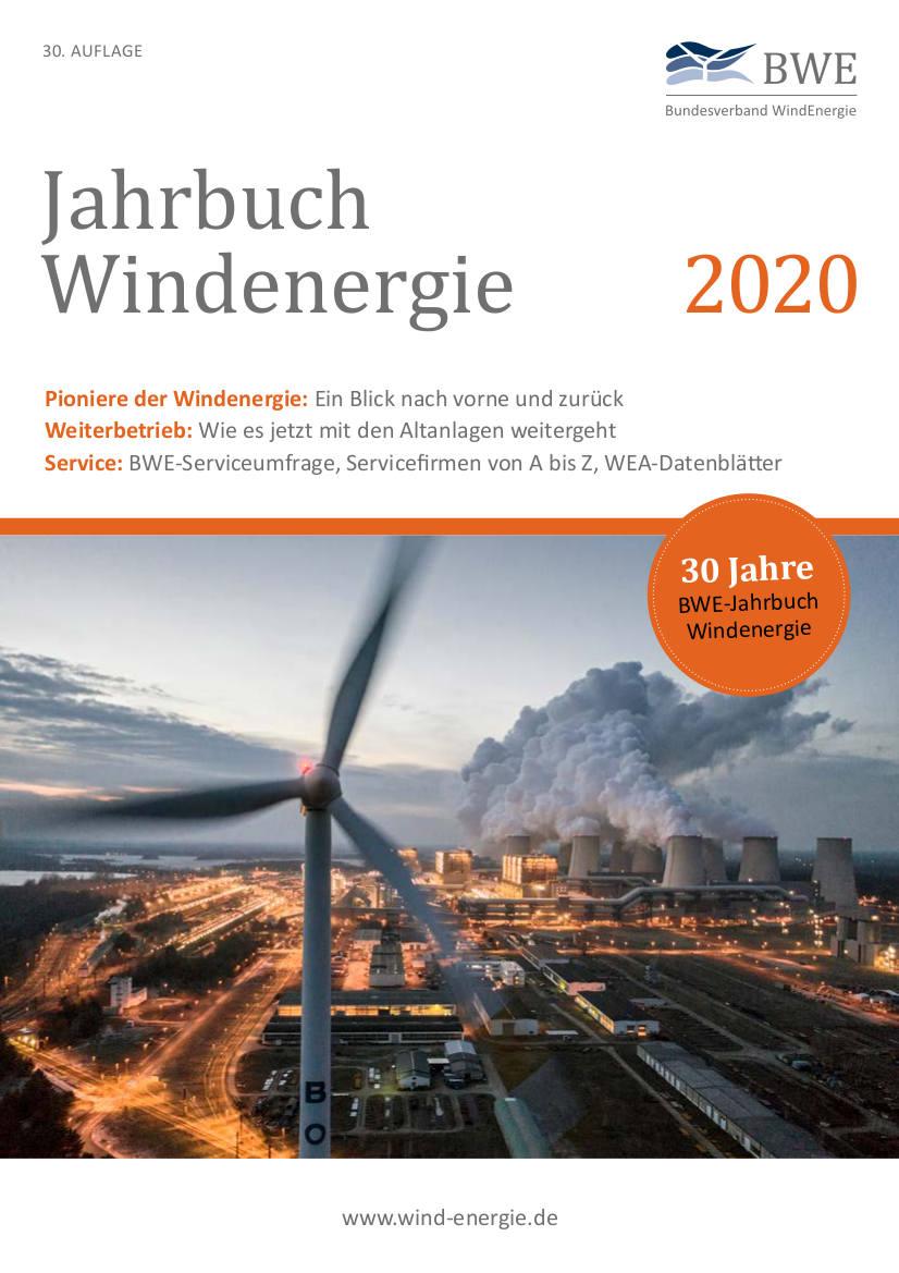 Jahrbuch Windenergie 2020 Cover