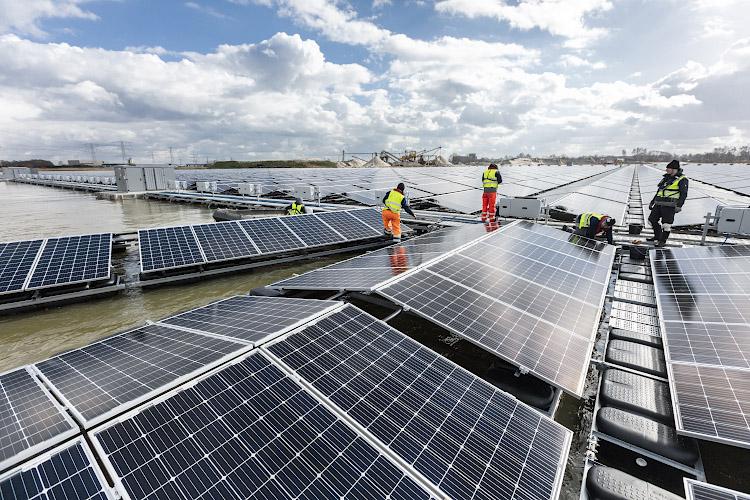 Baywa-re Solarpark Bomhofsplas NL 2020