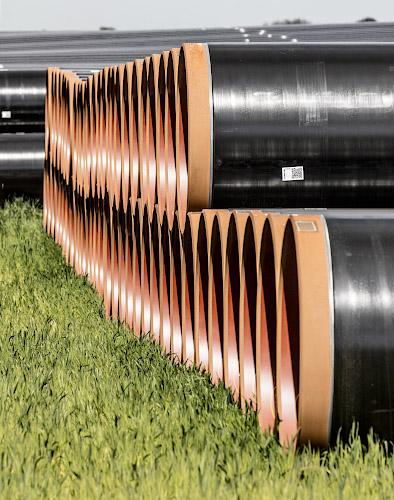 Baustelle EUGAL Gas Pipeline Pasewalk 2019