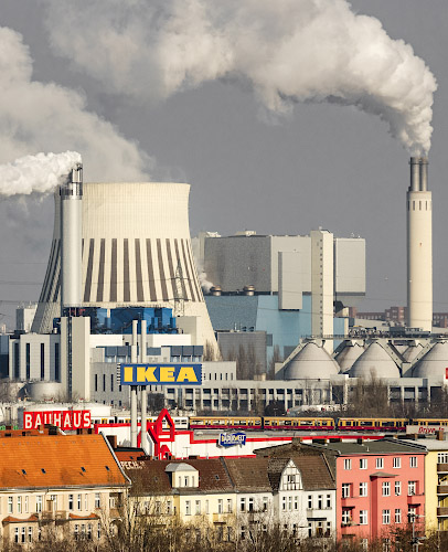 Vattenfall Europe Waerme AG Steinkohlekraftwerk Reuter West. Berlin 2018