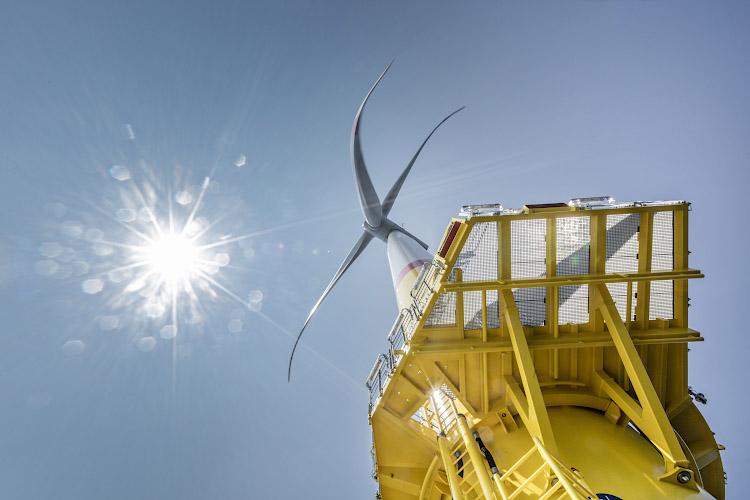 Offshore Windpark Arkona, Siemens Gamesa Wind Power SWT 6.0 154. Ostsee, Baltisches Meer 2019