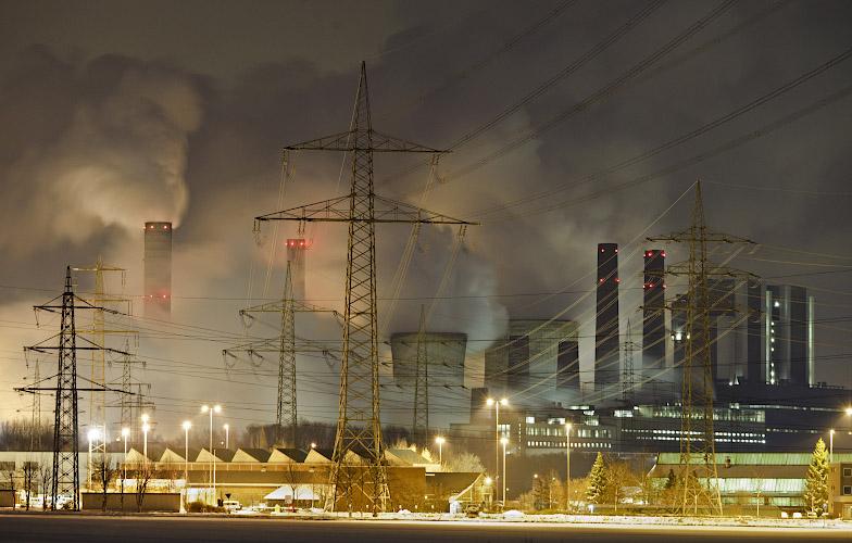 RWE POWER AG Kraftwerk Weissweiler. Rheinisches Braunkohlerevier 2010