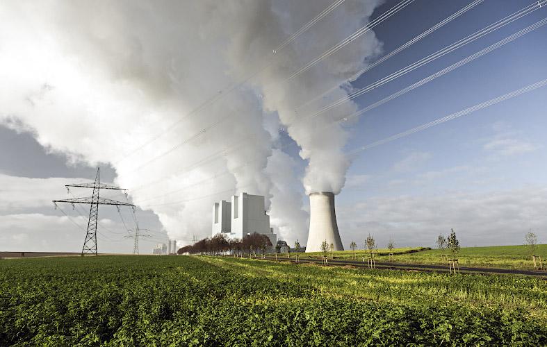 RWE POWER AG Kraftwerk Neurath. Rheinisches Braunkohlerevier 2013