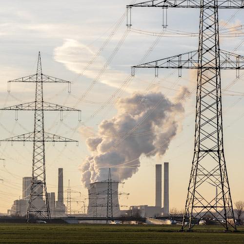 RWE POWER AG Kraftwerk Weissweiler. Rheinisches Braunkohlerevier 2019