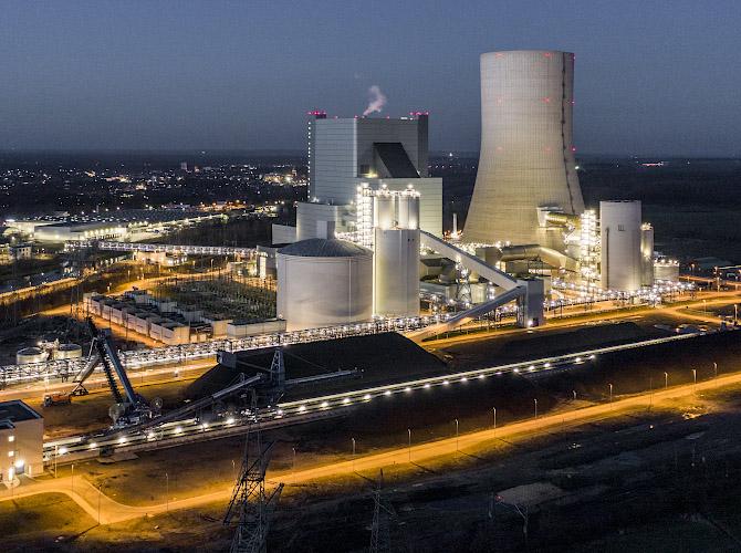 Uniper Kraftwerke GmbH Steinkohlekraftwerk Datteln 2020
