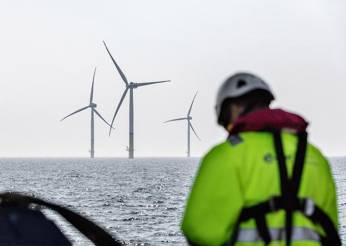 Offshore Windpark Arkona Ostsee Baltisches Meer 2019